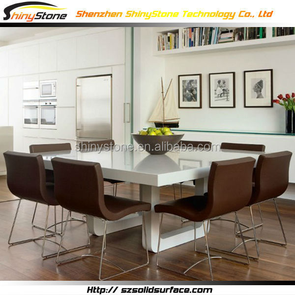 1800 1800 8 Seater Designer White Table Top Artificial Marble Dining Table Set Buy Dining Table Set Dining Table Set Dining Table Set Product On Alibaba Com