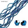 Blue shiny