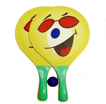 38*24 см Деревянный Пляжный набор теннисных мячей для детей
