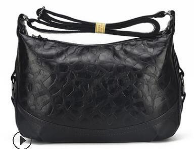 Брендовая женская сумка, женская сумка на плечо из натуральной кожи, женская маленькая вместительная мягкая кожаная сумка-тоут, сумка-хобо ...(Китай)
