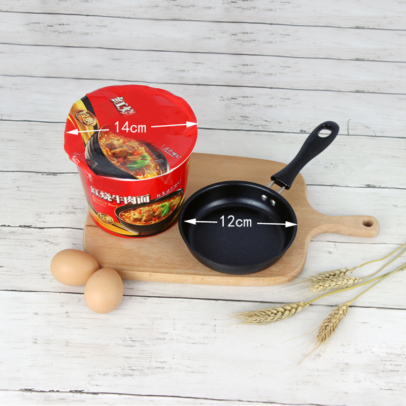 Mini frying pan pure iron breakfast magic pot egg magic pan small frying pan Creative Design Kitchen Gadget