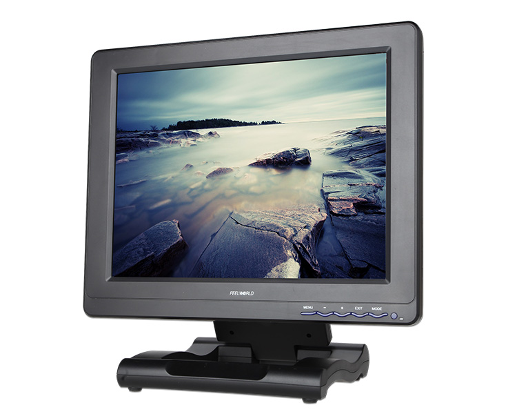 Portable Wide Sreen LCD Panel HDMI Component Composite HD Video 1080p Input 12.1