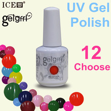 10 Color 1 Base Coat 1Top Coat Manufacturer best quality gel polish 0 5z soak