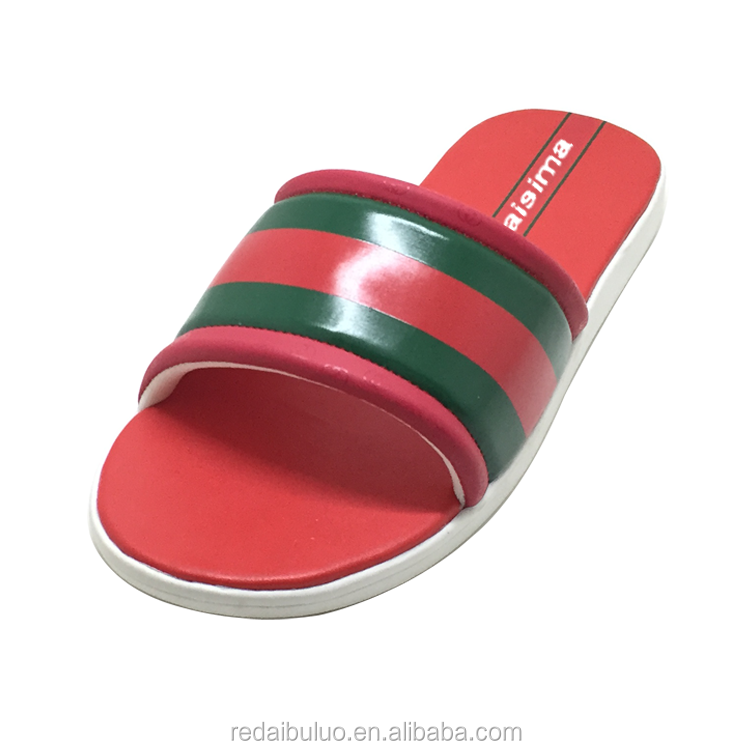 New Summer Cheap Men Sport Slide Sandals Wholesale Men Outdoor Leather  Slipper - Buy Sports Slippers Leather,Footwear Designs Slippers,Leather  Flat Slippers Product on Alibaba.com