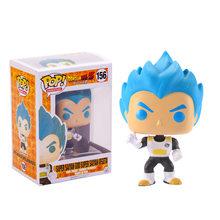 Funko pop Amine Dragon Ball Vegeta Goku Виниловая фигурка, Коллекционная модель, игрушки для детей с оригинальной коробкой(Китай)