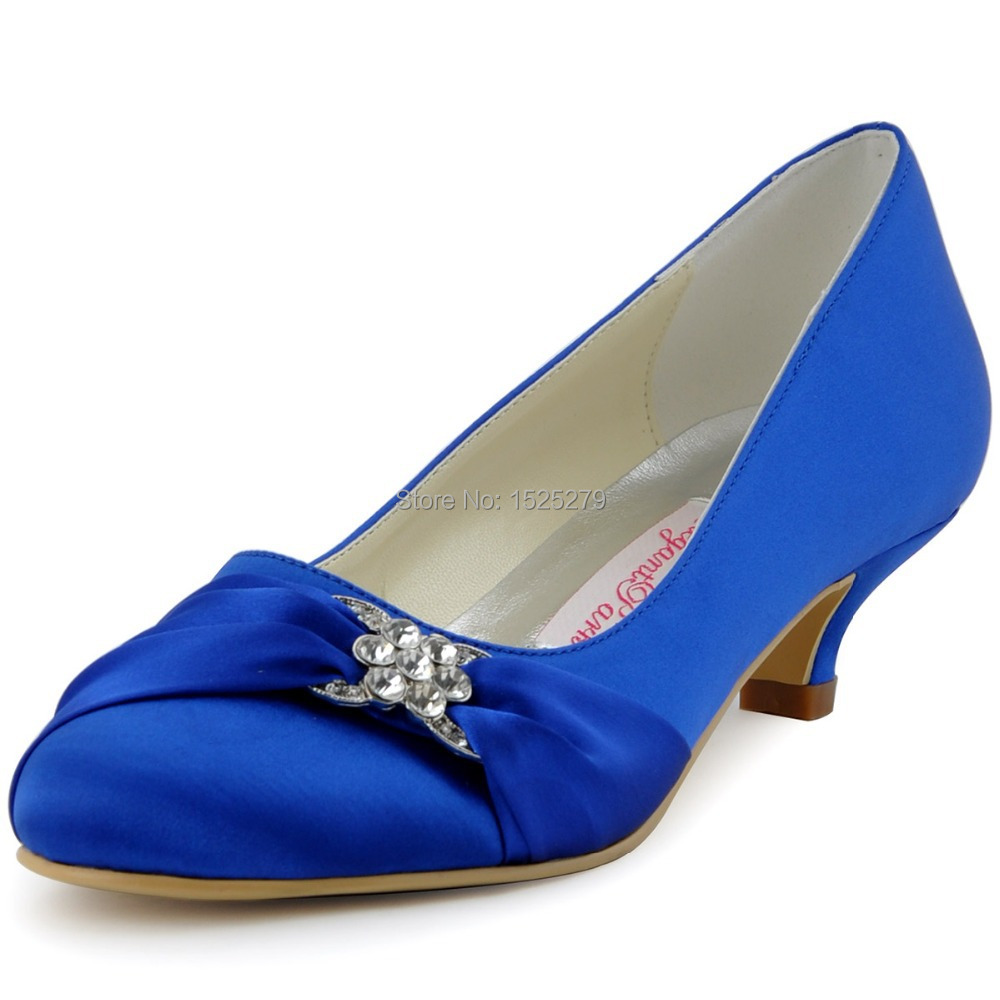 Blue Purple Wedding Shoes