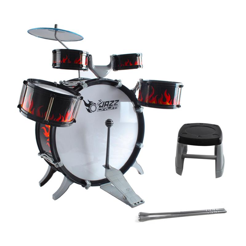 Modern Design Rock Roll Drum Set Children Kid Jazz Drum Toys For Kids