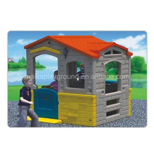 Нетоксичный и прочный детский пластиковый игровой домик для сада, игрушка для продажи