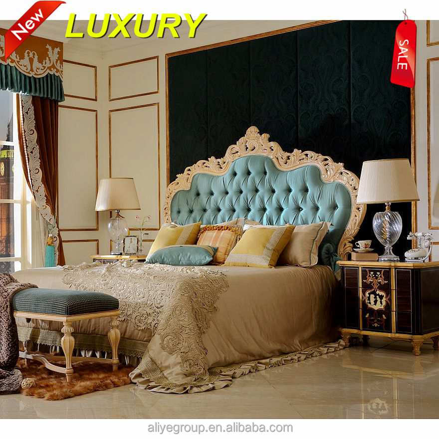 Hot Solid Wood King Bedroom Set Mf9126 View King Bedroom Set Aliye Product Details From Guangdong Luxury Homey Furniture And Interior Decoration Co Ltd On Alibaba Com