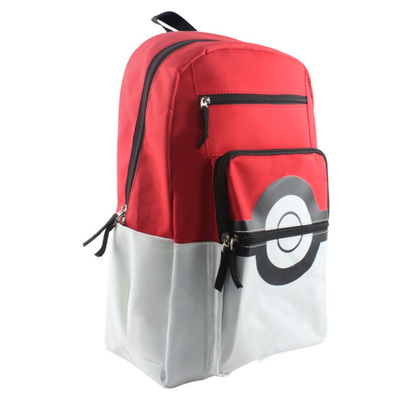 Anime-Pokemon-Pikachu-Poke-Ball-School-Shoulder-Bag-Children-Plush-Backpack-Free-Shipping-BB0119 (2)