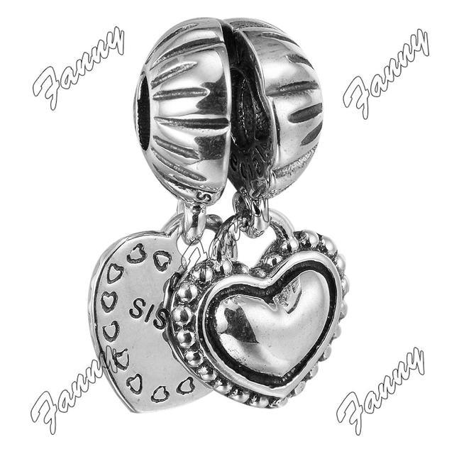 Pandora Jewelry Llc: SISTER CHARMS THAT FIT PANDORA