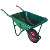 All Normal Sizes Best Metal Hand Trolly Cart With Platform Two Wheel Cart