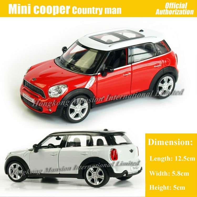 2019 1 36 Scale Diecast Alloy Metal Car Model For Mini Cooper S