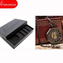 Мужские Механические карманные часы, цепочка с шестигранным кулоном, роскошные подарочные механические часы с ручным заводом, винтажные ан...(Китай)