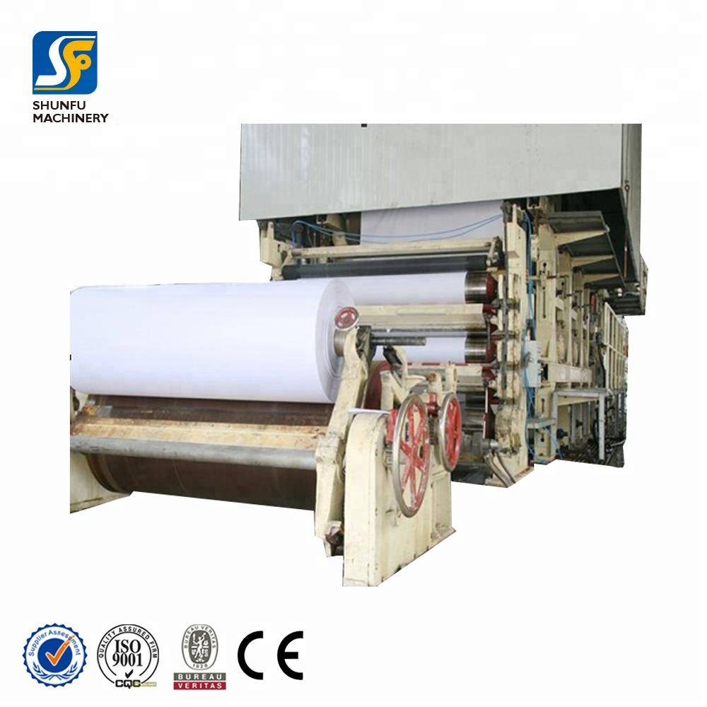 Paper Machine Making Double A A4 Paper 80 g White In Copy Paper