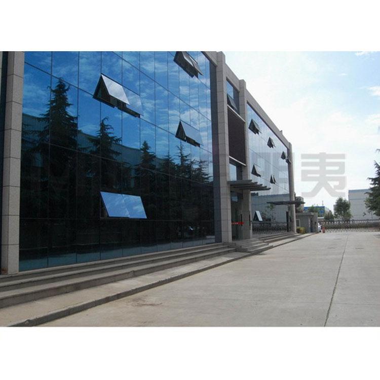 Видимая рамка оттенок закаленная стеклянная ненесущая стена двойное остекление стеклянной стены