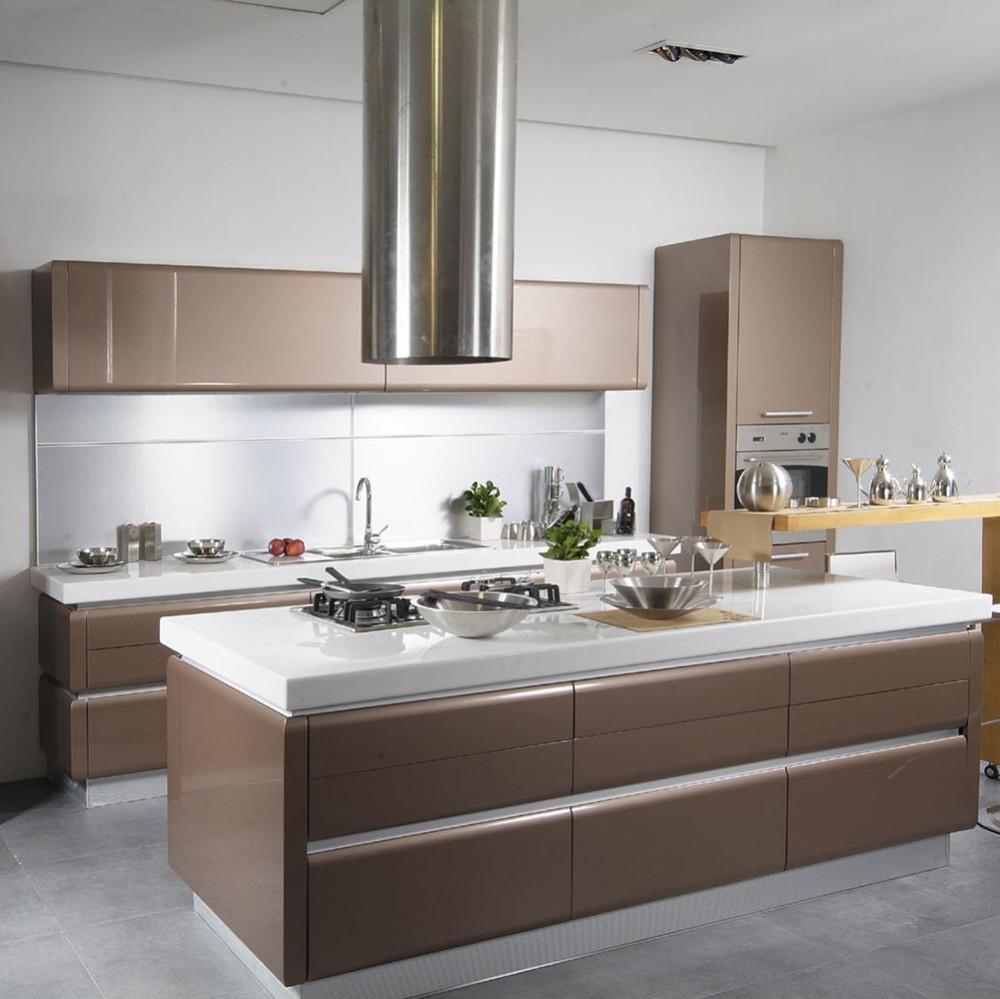 Aluminium Handle Modern Kitchen Cabinet Design,Kitchen Cabinet ...