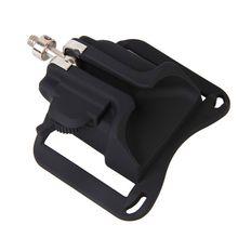 Fast Loading Camera Holder Waist Belt Buckle Button Mount Clip For Canon Nikon