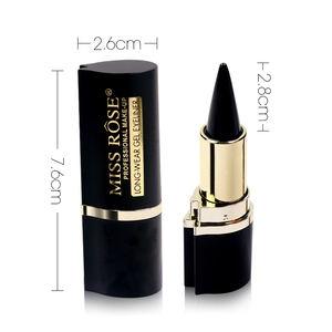 Косметика MISS ROSE Matte Black Tube Waterproof Gel Eyeliner Pencil