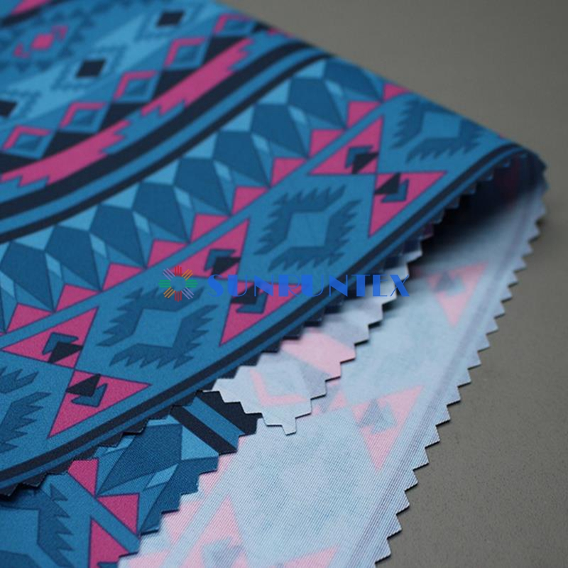 outdoor functional waterproof breathable polyester taslan fabric