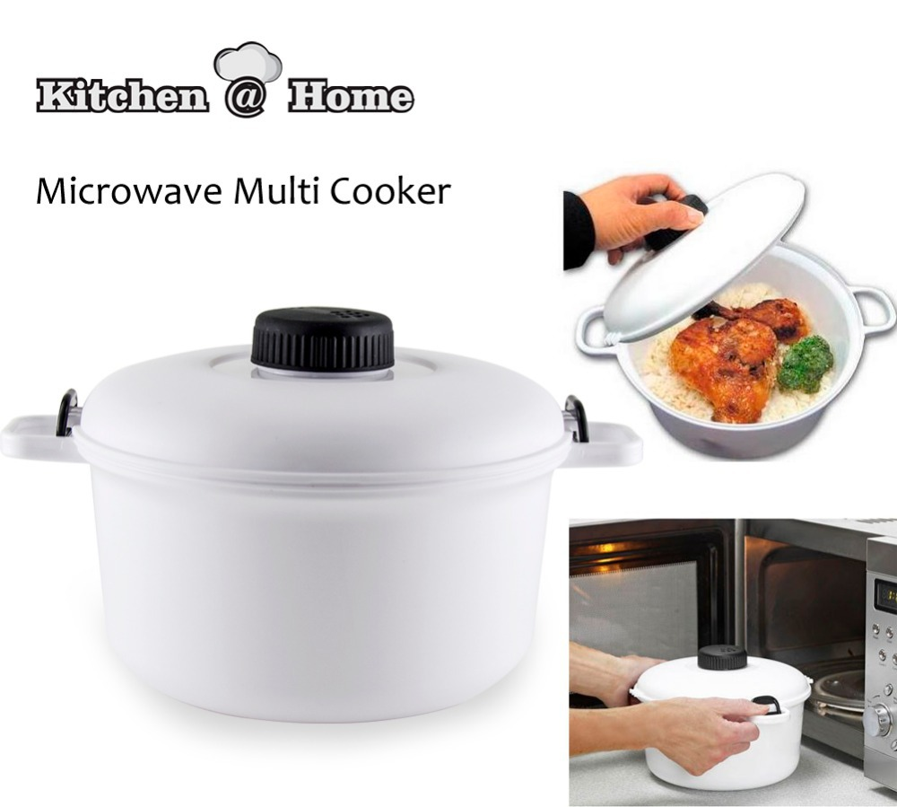 Kitchen Living Food Steamer: 2.5L Pressure Cooker Neat Ideas Microwave Steamer Cooker
