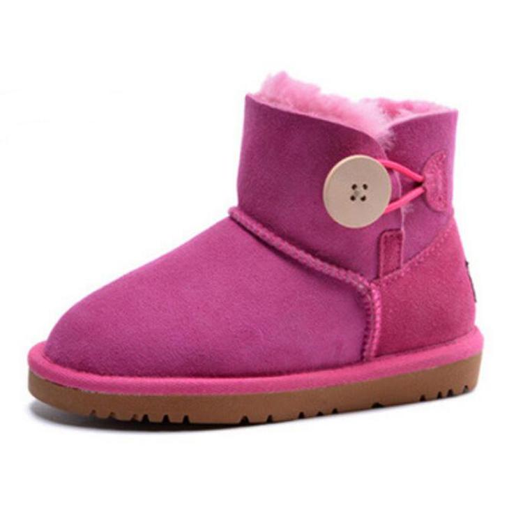 2021 новый дизайн, Детские австралийские сапоги из овчины, зимняя обувь для девочек, оптовая продажа детской обуви