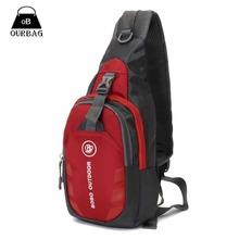 Unisex Nylon Chest Back Pack Outdoor Hiking Sport Crossbody Shoulder Bag Men Women Diagonal Package  Rucksacks 2015 Hot
