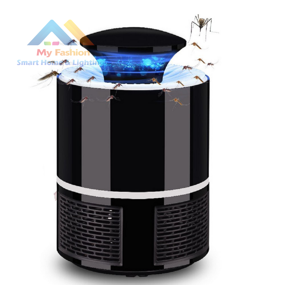 US USB Bug Insect Zapper Mosquito Killer Indoor Fly Pest Trap Inhaled Lamp Light