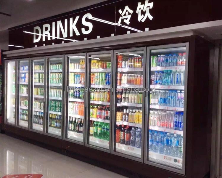 Lintee Commercial Supermarket Refrigeration Equipment