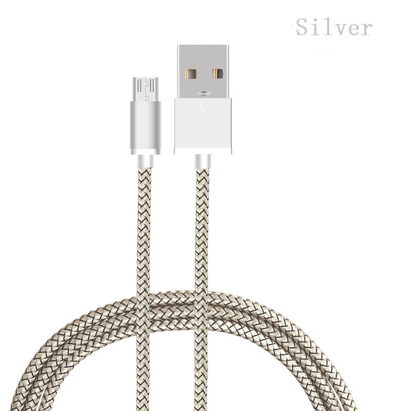 Прямая поставка, Кабель зарядного устройства micro USB для мобильного телефона с индивидуальной упаковочной коробкой