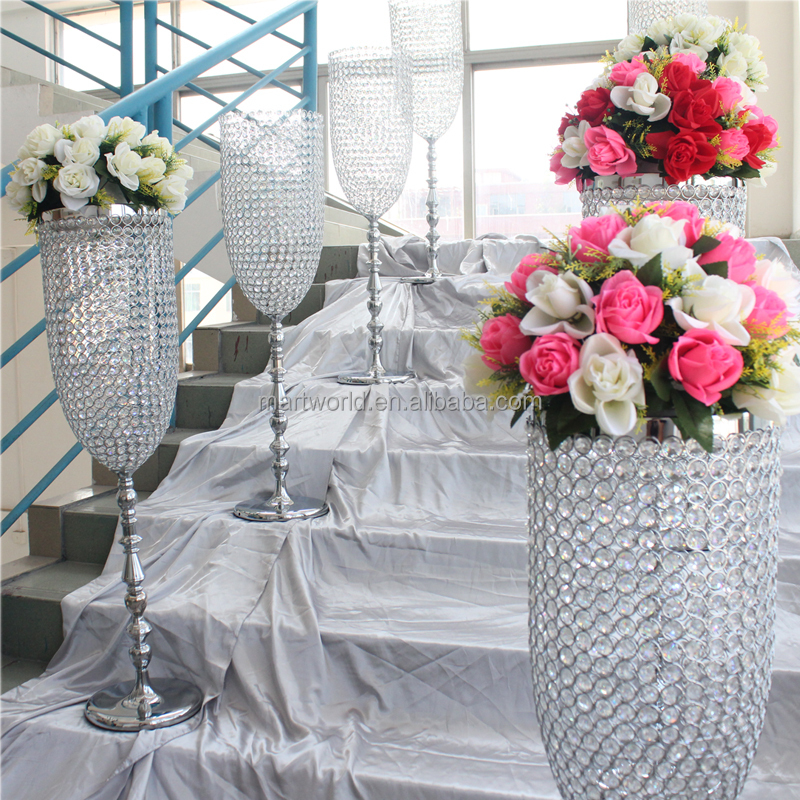Hot Sale Crystal Vase Centerpiece Wedding Centerpiece
