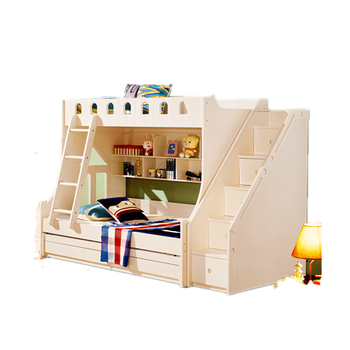 High quality strong kids wooden bed Bedroom Furniture Bunk Beds