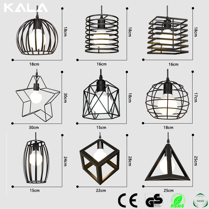 zhongshanVintage Aluminium Shade Ceiling Lamp Led Pendant Light