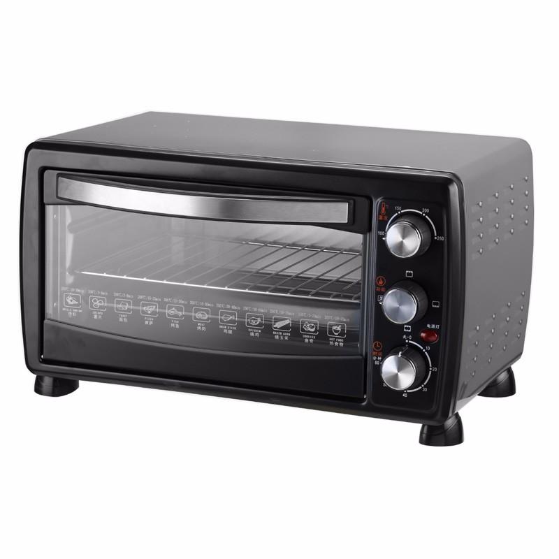 18L электрическая печь из нержавеющей стали, конвекция, гриль, внутренняя лампа с CE, CB, ETL, RoHS