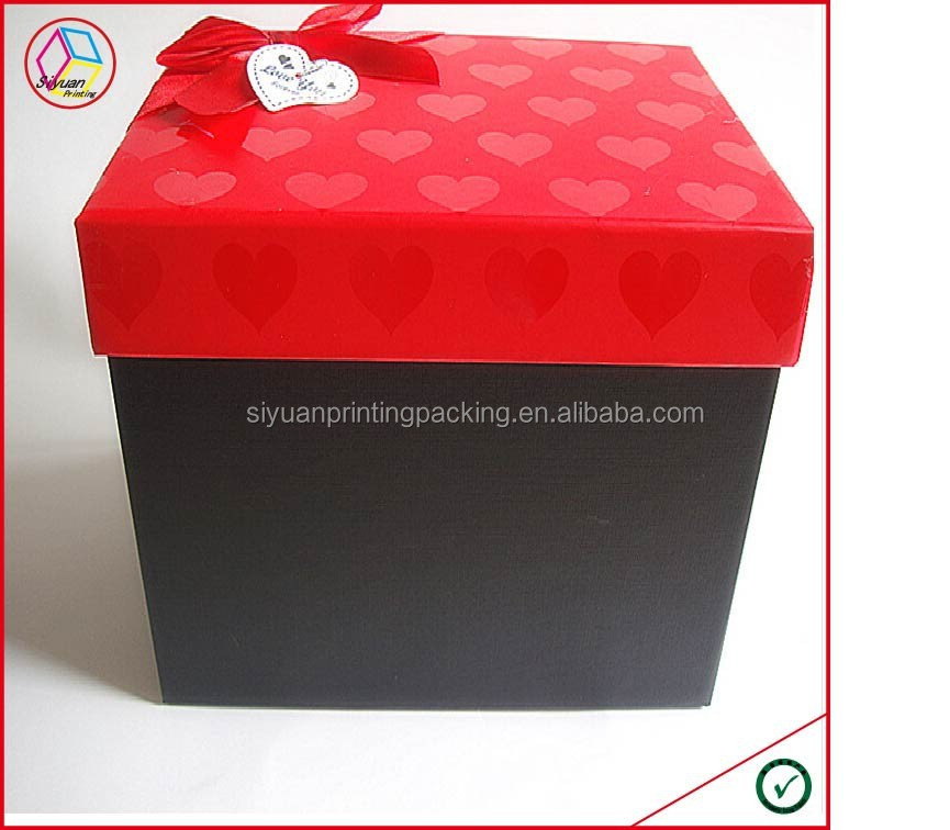 high quality large gift boxes with lids buy large gift boxes with lids large gift boxes with. Black Bedroom Furniture Sets. Home Design Ideas