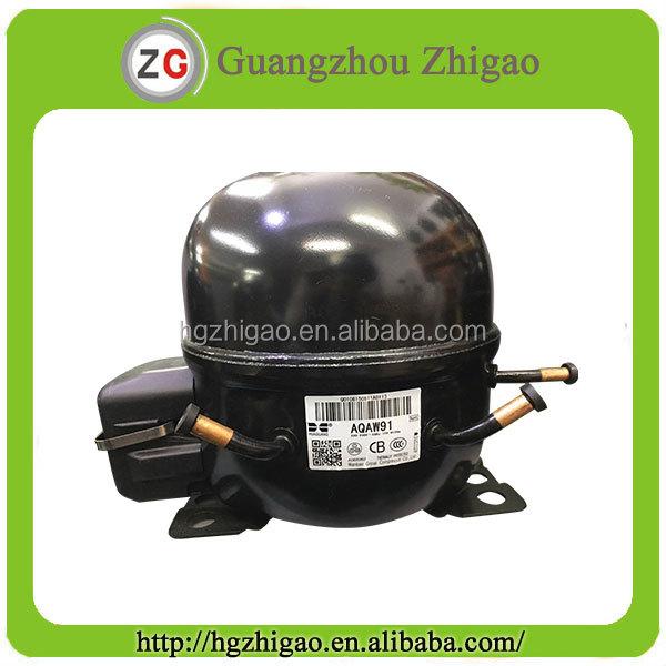 Big 1/4 HP R134a LBP Wanbao Mini Refrigerator Compressor AQAW91