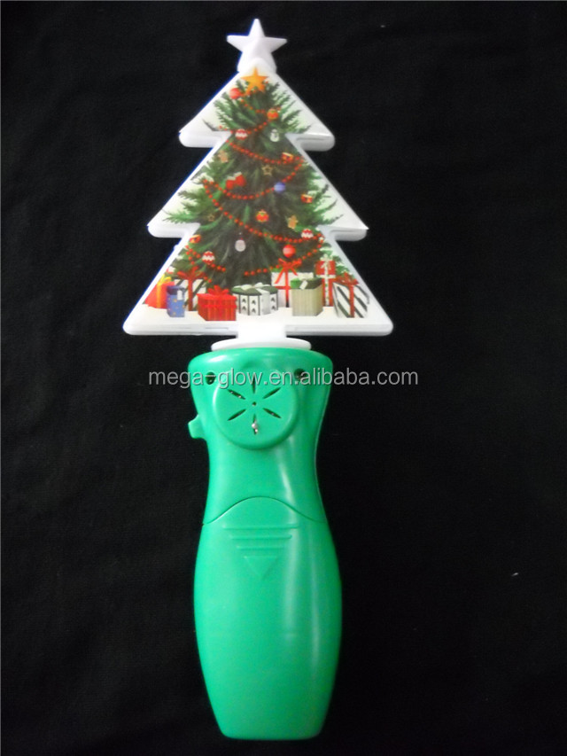 christmas flashing spinner toy electric christmas tree led spinning