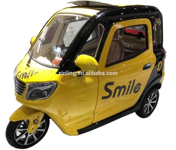 2019 new arrival 60V1000W city car three wheel mobility enclosed scooter with wholesale price for sale