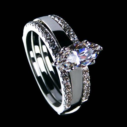 Horse Diamond Engagement Ring
