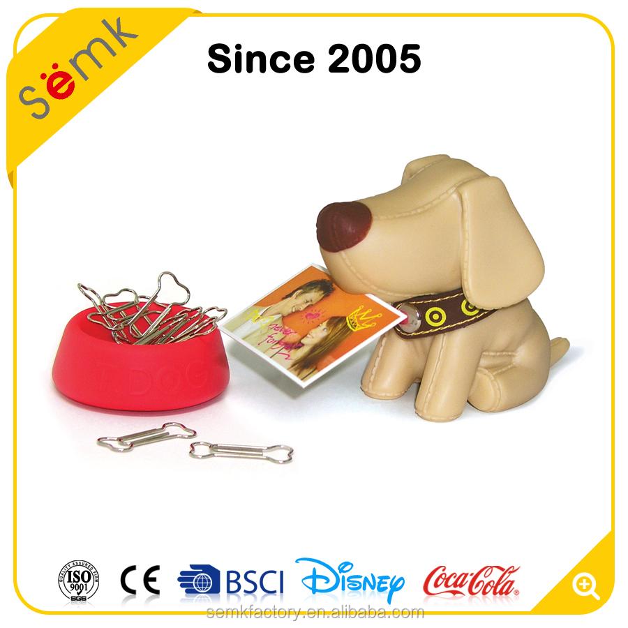 Ens, оптовая продажа, магнитная карта в форме собаки и уникальный держатель с зажимом для бумаги