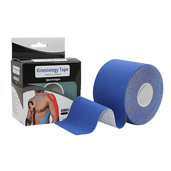 multiple colors available hypoallergenic acrylic cotton basic 5cm*5m kinesiology tape