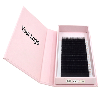 Great Quality Private Label Self Fan Lashes Easy Fans Rapid Blooming Eyelash Extension mink individual lashes