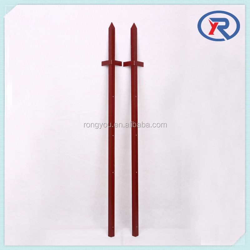 Hot Selling 4x4 Metal Fence Posts Galvanised Angle Iron