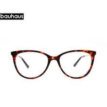 Bauhaus, негабаритные очки с прозрачными линзами для мужчин и женщин, ретро очки с металлической оправой, прозрачные оптические оправы для очко...(Китай)