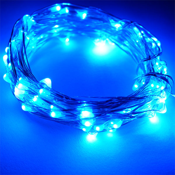 Led Curtain Lights Copper Wire String Lighting Ul Led