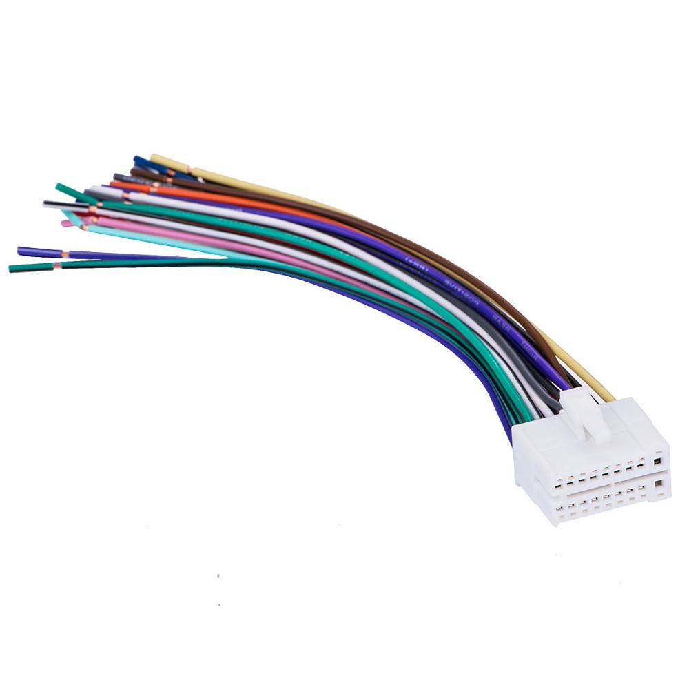40pin Stereo Radio Wiring Wire Harness For Clarion Skcl40 Car Audio Parts    Buy Car Stereo Wireing Harness,Radio Wire Adapter,Car Connector Product on  ...