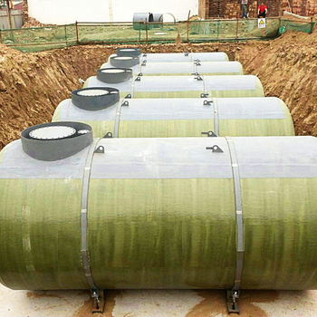 High quality S/F double wall underground fuel tank with low price