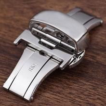Аксессуары для часов Пряжка из нержавеющей стали для Tissot Mida ремешок Пряжка Автоматическая Бабочка Пряжка часы Запонки 18 20 22 мм(Китай)