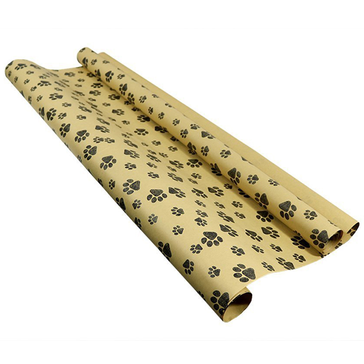 Cheap Colorful Customized Printed Presents Decorative Wrapping Kraft Paper