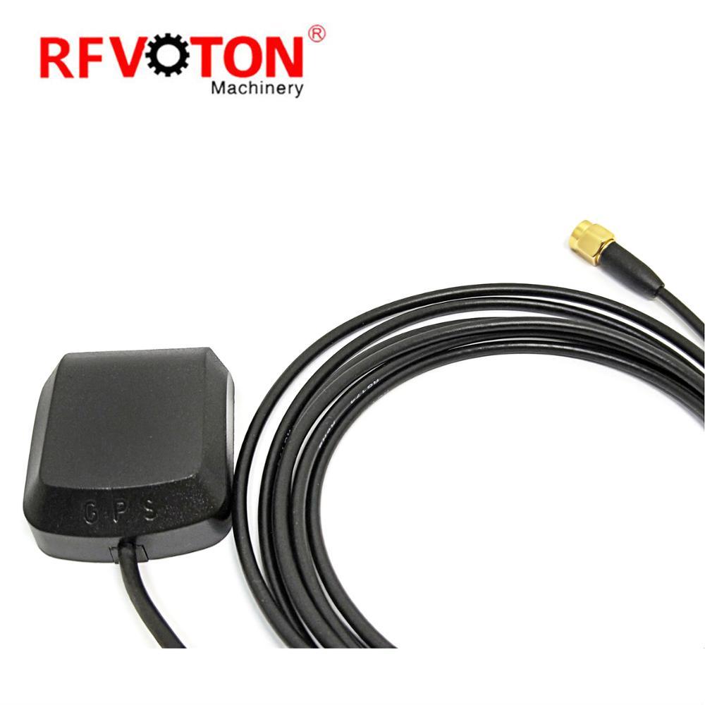 Внешняя активная Магнитная GPS антенна с высоким коэффициентом усиления RG174 кабель